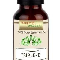 Original Happy Green Triple E Essential Oil (10 Ml) - Minyak Pelega