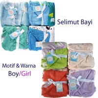 Selimut Bayi Murah Double Fleece Carter