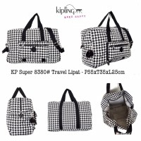 tas travel lipat kipling 8380(1) travel bag koper ada tali slempang