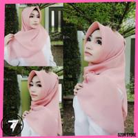 Kerudung Segi Empat Bella Square Hijab Jilbab Bella Square - SALEM