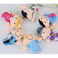 Boneka Jari FAMILY 6pcs / Boneka Jari ANIMAL 10pcs - PAKET FAMILY6pc