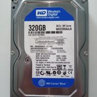 "HDD WD 320GB 3,5"" SATA GARANSI 1 TAHUN"