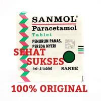 Sanmol - Isi 4 Tablet