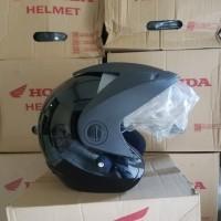 Helm Honda TRX - 3 TRX3 Baru, Ori, Helm Half Face SNI Box Ori