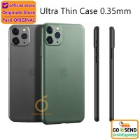 Case iPhone 11 Pro Max / 11 Pro / 11 / Xr / Xs AirCase Ultra Thin - iPhone 11ProMax, Hijau