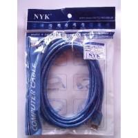 KABEL USB 2.0 EXTENSION / PERPANJANGAN M-F 10 meter NYK