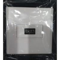 Faceplate HDMI Single Port - Putih