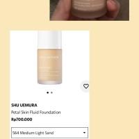 Shu Uemura. Petal Skin Foundation. Shade 564.