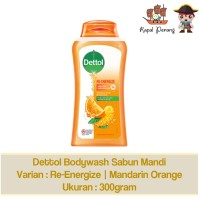 Dettol Body Wash Re-Energize 300 gram