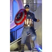 SUPERHERO Miniatur Action Figure Karakter Marvel Captain America Aveng