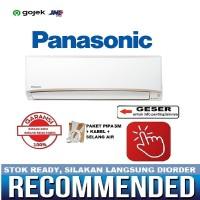 PANASONIC AC 1/2 PK PN5UKJ standard tanpa PASANG PIPA 3M - RESMI