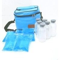 PAKET COOLER BAG CELLO GRANDE TAS ASIP THERMAL BAG BOTOL ASI ICE GEL