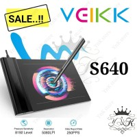 Veikk veik S640 Digital Graphic Drawing Pen Tablet OSU not H420 G430