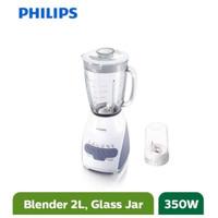 Philips Blender Gelas Kaca / Beling 2 Liter HR 2116 GARANSI 2L 350W