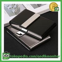 FOCUS Kotak Bungkus Rokok Elegan Leather Cigarette Case - B650925 - B