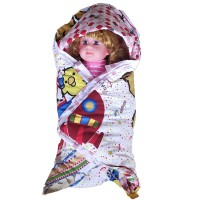 Selimut Bayi Baby Blanket Topi Chekkido