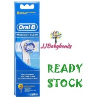 Oral B Precision Clean Replacement Electric Toothbrush Heads 2 Pack