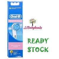 Oral B Sensitive Clean Replacement Electric Toothbrush Heads 2 Refills
