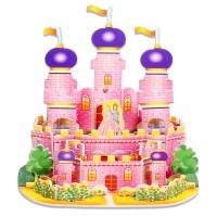 puzzle 3d istana