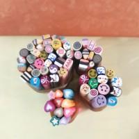 fimo hiasan kuku stiker kuku nail art