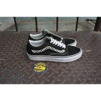 Vans Old Skool Side Stripe Black White