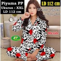 Piyama PP XXL - Katun Jepang / Baju Tidur Murah - Karakter Panda Apple