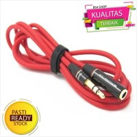 Kabel Audio 3.5mm Male To Female - Extender Cable Audio 3.5mm