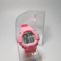 jam tangan digital anak remaja sporty water resist visica skmei casio