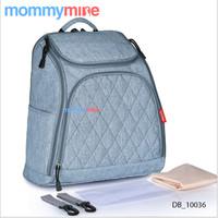 Mommymine Tas Bayi Import (Diapers/Travel bag) Merk Insular (DB_10036) - Biru Muda