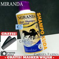 Miranda Original - Shampoo Kuda - Original - BPOM - 200 - Shampo Kuda