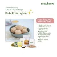 ONDE ONDE HOJICHA - Bundling Resep Matchamu