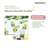 MATCHA CARTEPILLAR COOKIES - Bundling Resep Matchamu