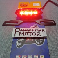 LAMPU STOP PLUS BREKET PM 5 LAMPU STOP MOTOR SPORT RXK VIXION KLX NINJ
