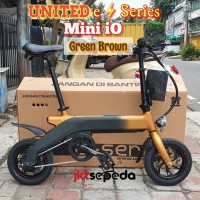 Sepeda Ebike UNITED Mini iO