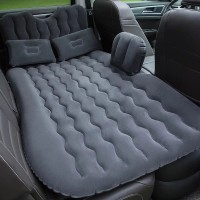 Kasur Matras Angin Mobil Travel Inflatable Bed with Air Pump camping