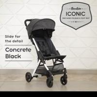 NEW : Stroller Bayi Iconic Cocolatte CL 701 Iconic Bisa Gojek - dark grey