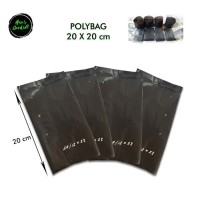 Plastik Polybag Polyback Polibag Polibeg Polibek Tanaman 20cm x 20 Cm