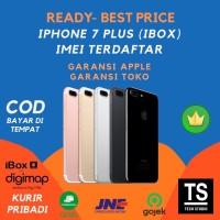 Garansi iBOX iPhone 7 Plus 256GB 128GB 32GB IMEI Terdaftar RESMI TAM