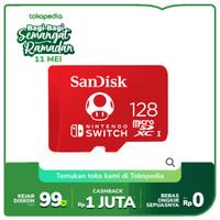 SanDisk Nintendo Switch 128GB 100MB/s MicroSD