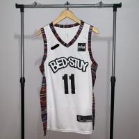 Jersey Basket Swingman NBA Brooklyn Nets Kyrie Irving Bedstuy Bed Stuy - M