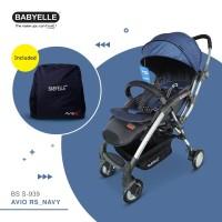 #NEW : Stroller Kereta Bayi BabyElle Avio Rs 939 - Biru