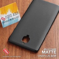 Soft Jelly Case OnePlus 3 3T Softcase Silicon Silikon Gel Casing Cover