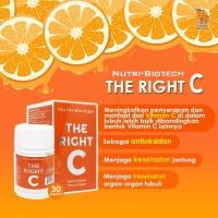 THE RIGHT C - Vitamin C ( isi 30 kapsul )