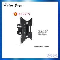 "Breket TV - Wall Bracket For LCD / LED TV 24"" - 43"" Bervin BWBA-3D12M"