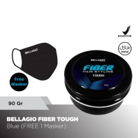 Bellagio Homme Fiber Hair Styling Tough 90gr (Blue)