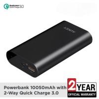 Powerbank AUKEY 10050mAh QC 3.0 Quallcom Quick Charge 3A ORIGINAL