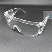 Safety glasses over spectacles / Kacamata safety minus / Clear lens
