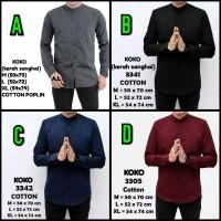 Koko Batik - Baju Koko Pria - Fashion Muslim Pria - Diskon Kode F, M