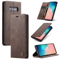 Samsung galaxy Note 8 Flip Case Caseme Cover Leather Wallet Dompet - Maron