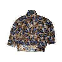 Floral Pattern Vintage Jacket